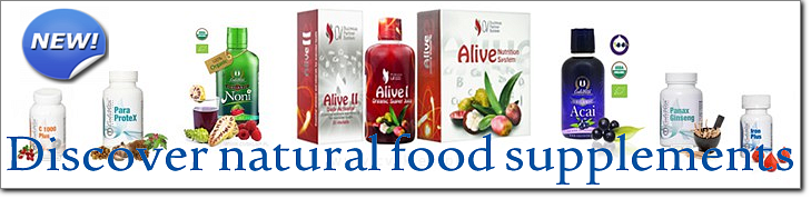 Discover natural food supplements